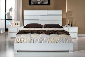 Anderm Italian Modern White Bedroom Set