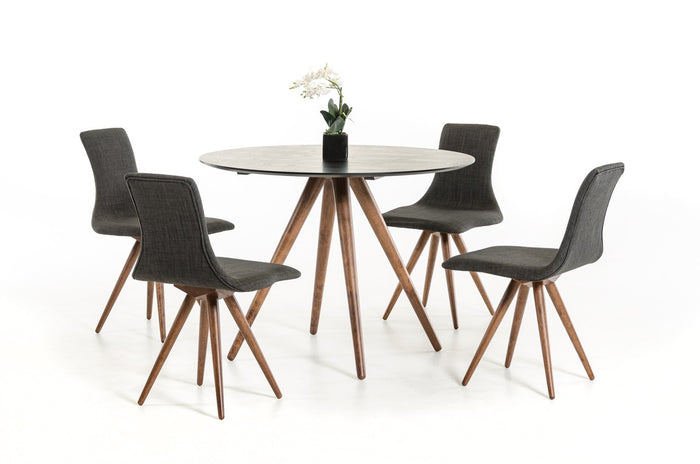 Tripend Round Dining Table