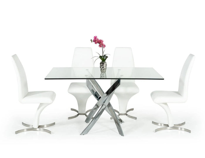 Pona Glass Dining Table