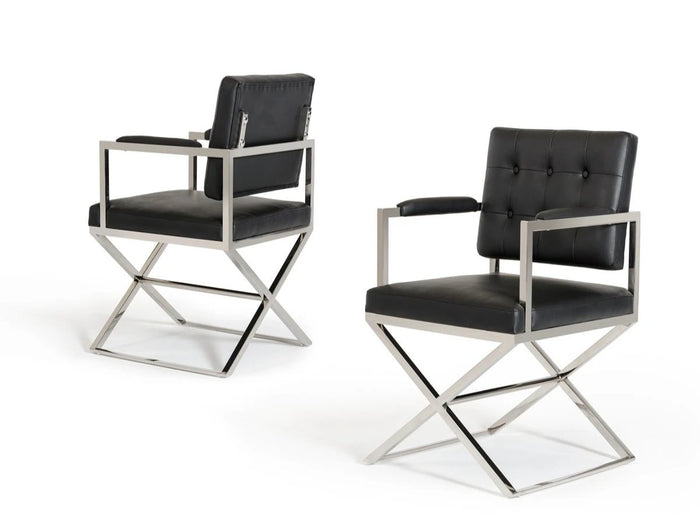 Sparky Modern Black Dining Chair