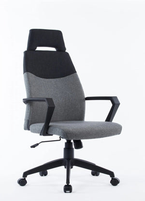 Tamer Modern Grey & Black Office Chair