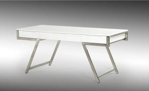Daqiko Modern White Gloss Desk