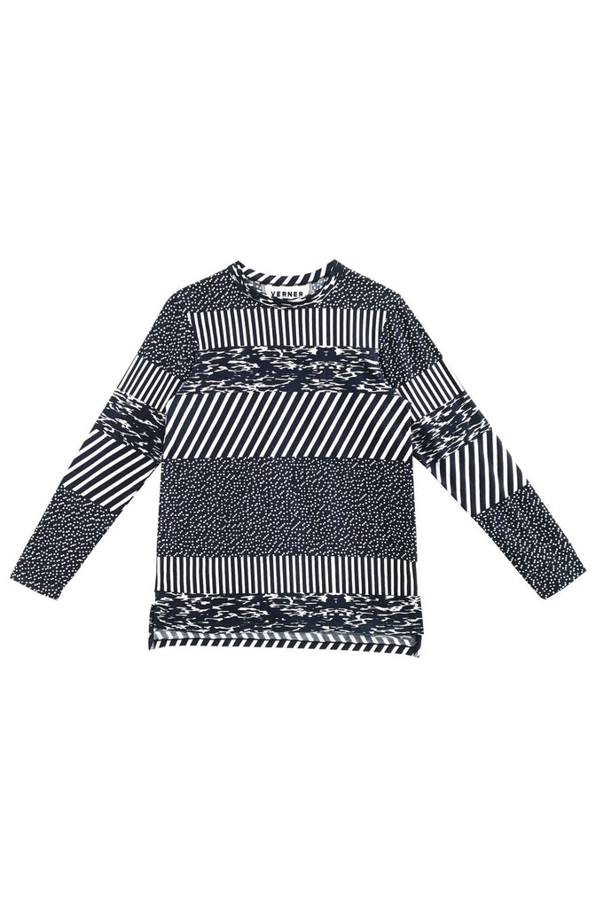 Striped Long Sleeve T