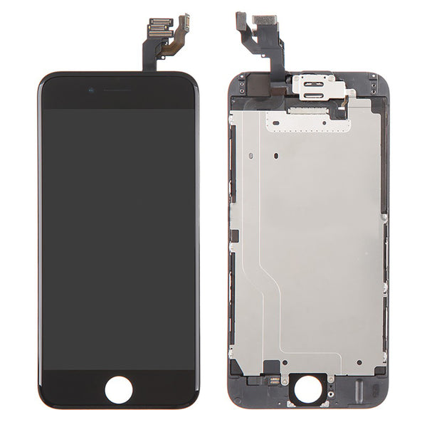 IPhone 6 LCD And Digitizer Glass Screen Replacement With Small Parts (Black) (Original)