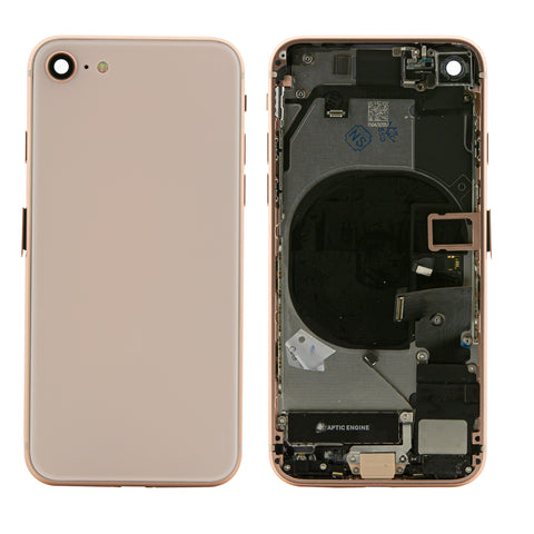 iPhone 8 Rear Back Housing Midframe Assembly W/ Pre-Installed Small Parts