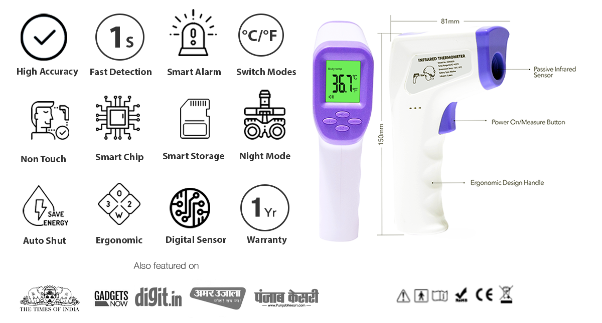 Segun Digital Infrared Thermometer