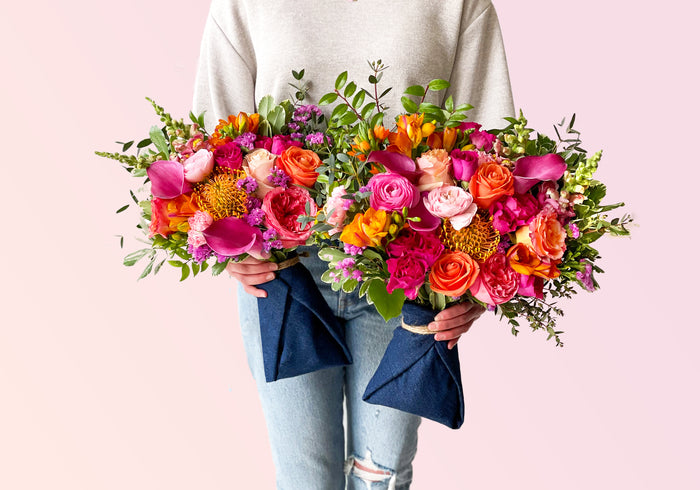 Toronto's<br> on-demand<br> flower delivery<br>
