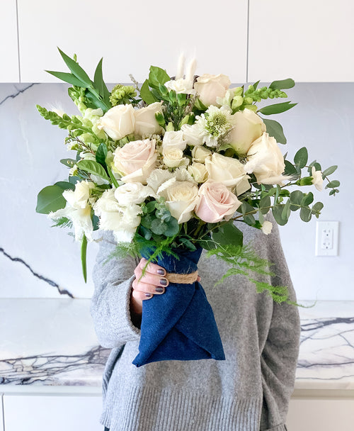 Hand tied bouquets are the perfect birthday, anniversary or wedding gift. Send flowers on demand!