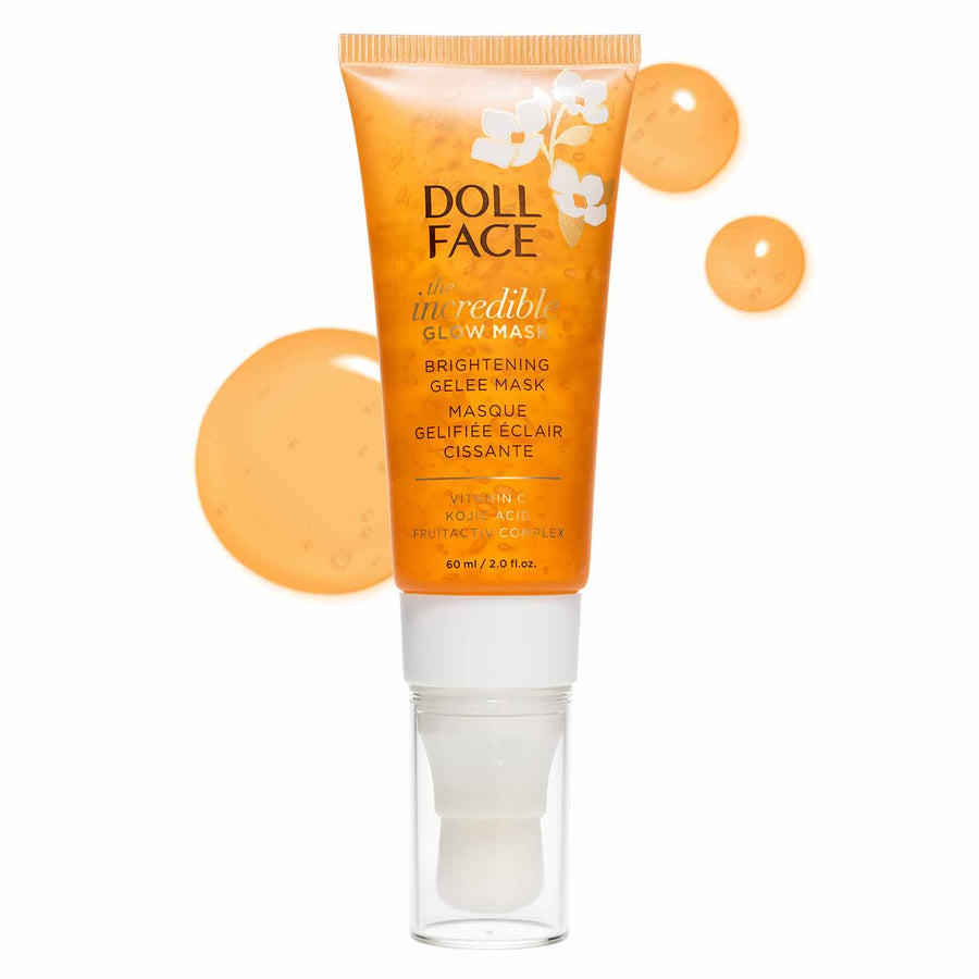 The Incredible Glow Mask </br> Brightening Gelee Mask