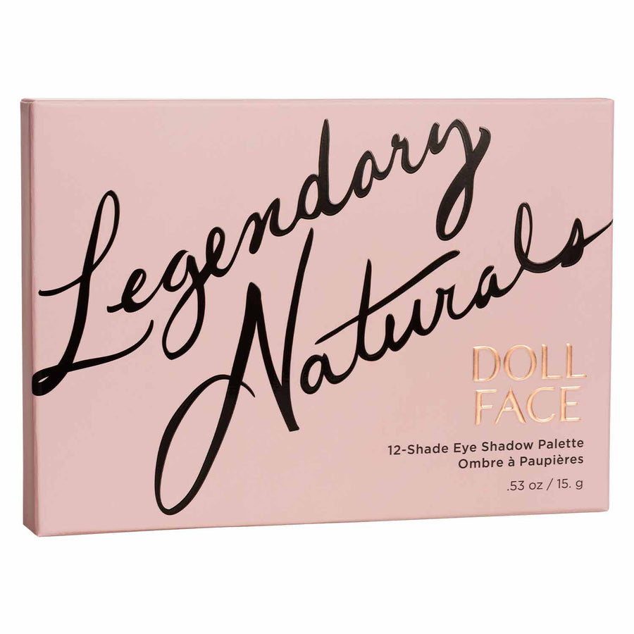 Legendary Naturals </br> 12 Shade Shadow Collection