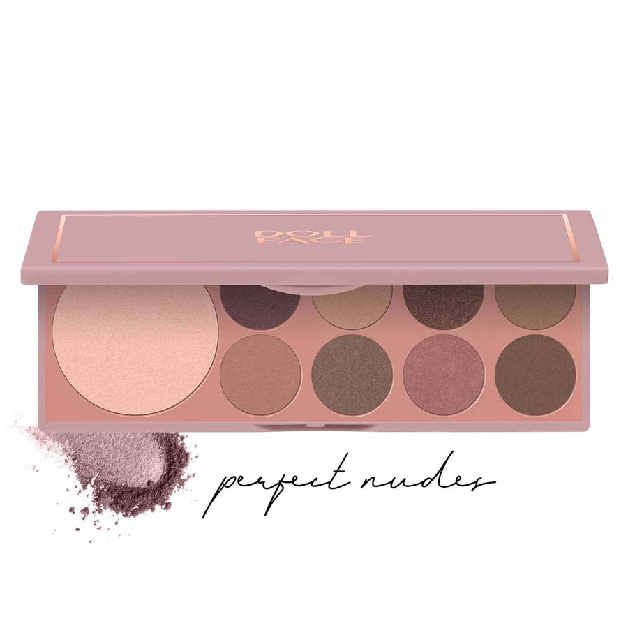 Nude Attitude </br> 9 Shade Face & Eye Palette