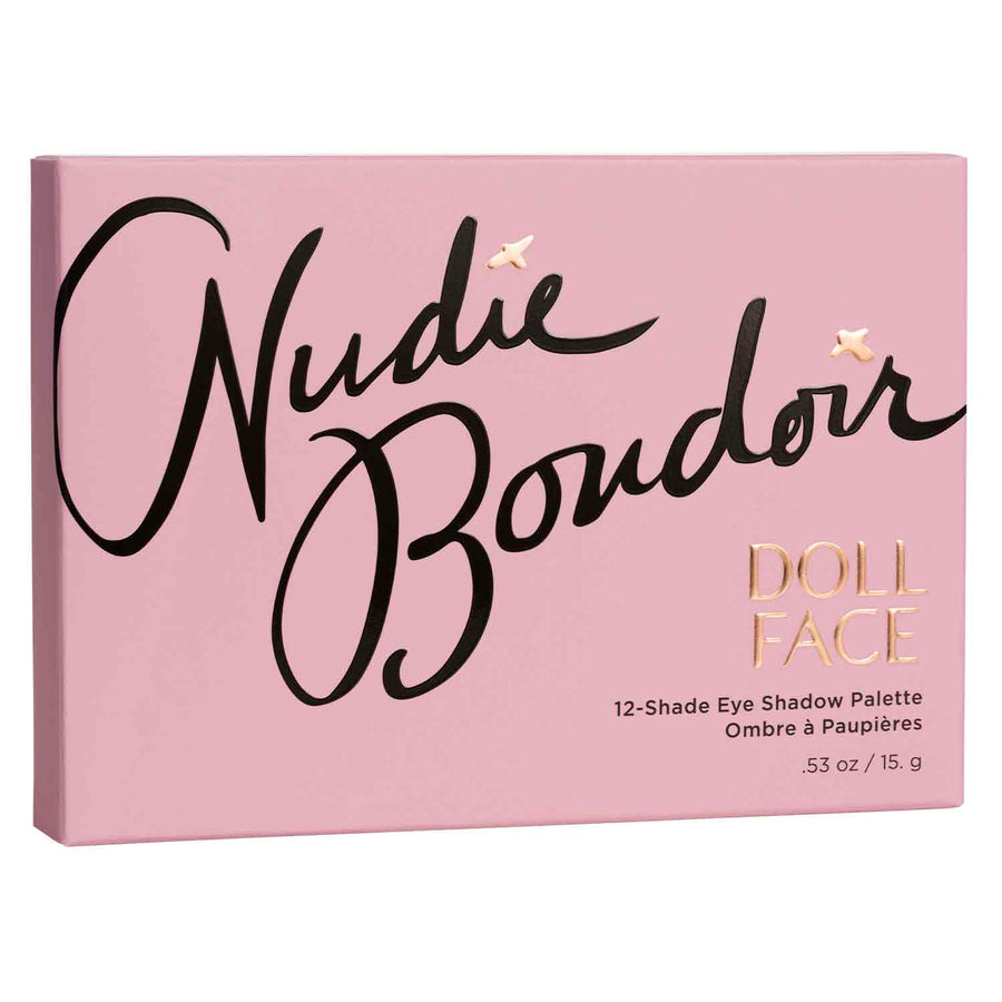 Nudie Boudoir </br> 12 Shade Shadow Collection