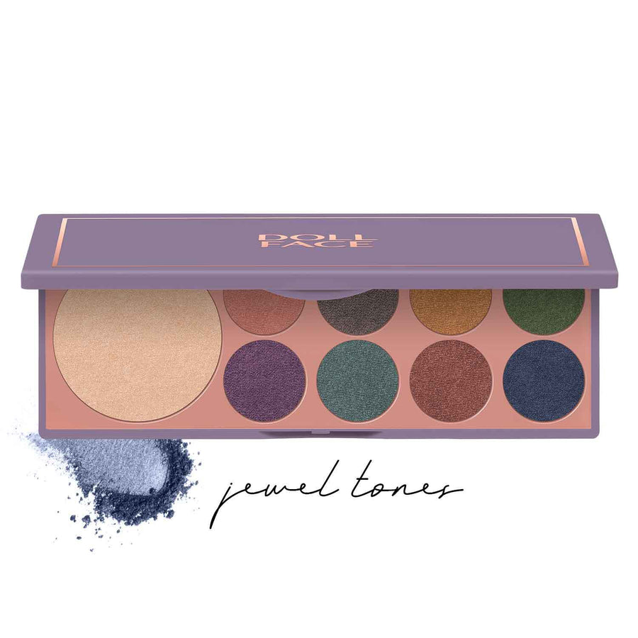 Pretty Little Gems </br> 9 Shade Face & Eye Palette