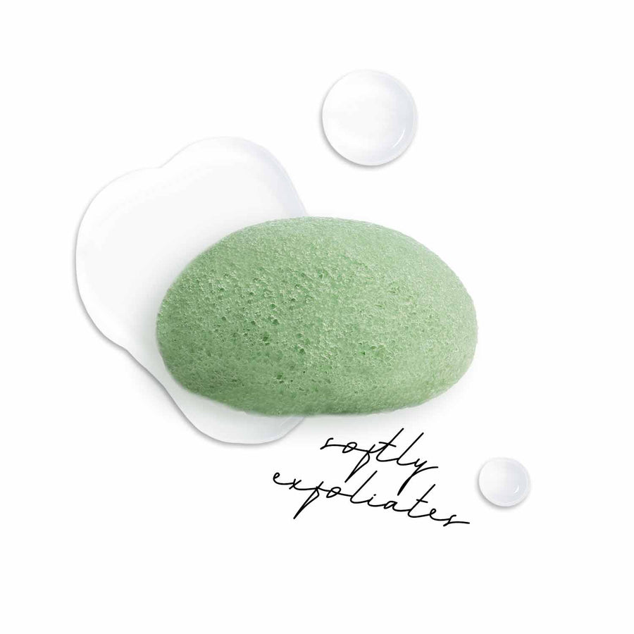 Pretty Puff </br> Green Tea Natural Konjac Sponge