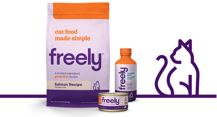 Freely Cat Food Products