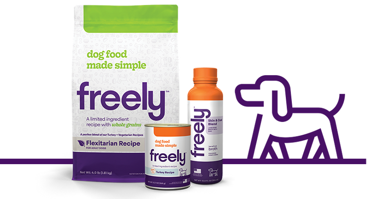 Freely Dog Food Products