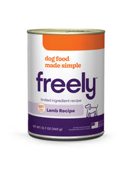 Freely Lamb Wet Dog Food is Limited Ingredient and Grain Free