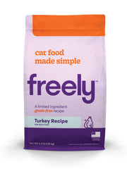 Freely Turkey Dry Cat Food is Limited Ingredient and Grain Free