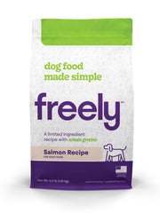 Freely Salmon Dry Dog Food is Limited Ingredient and Whole Grain