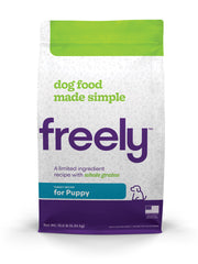 Freely Turkey Dry Dog Food for Puppies is Limited Ingredient and Whole Grain