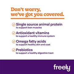 Freely Turkey Dry Dog Food benefits