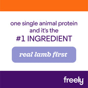 Freely Lamb Small Breed Dry Dog Food  is Real Lamb First Single Animal Protein