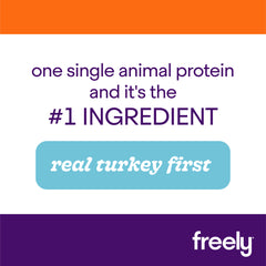 Freely Turkey Small Breed Dry Dog Food is Real Turkey First Single Animal Protein