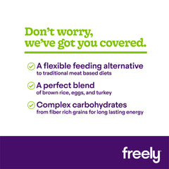 Freely Flexitarian Dry Dog Food benefits