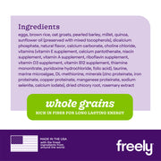 Freely Vegetarian Dry Dog Food Ingredients