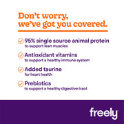 Freely Lamb Wet Dog Food benefits