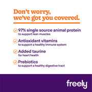 Freely Turkey Wet Dog Food benefits