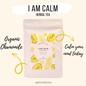 Organic Chamomile tea to add to your self care routine