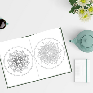 Mindful colouring book for adults