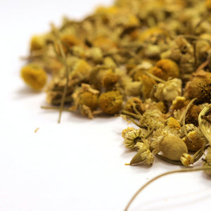 Loose leaf chamomile flower tea to help with anxiety and stress