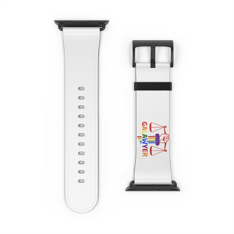Watch Band with GA Lawyer Logo