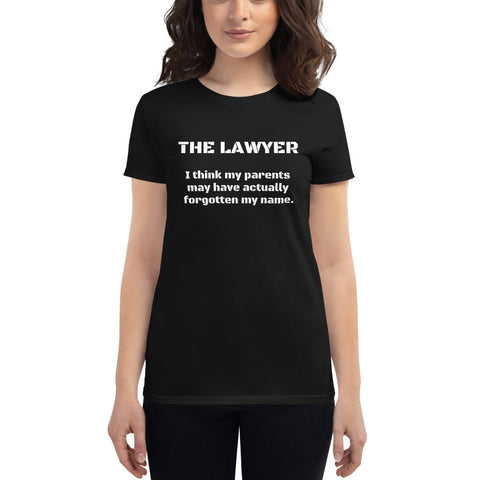 The Lawyer Introduction Women's short sleeve t-shirt