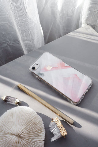 Brush Art Skin + Clear Case (iPhone)