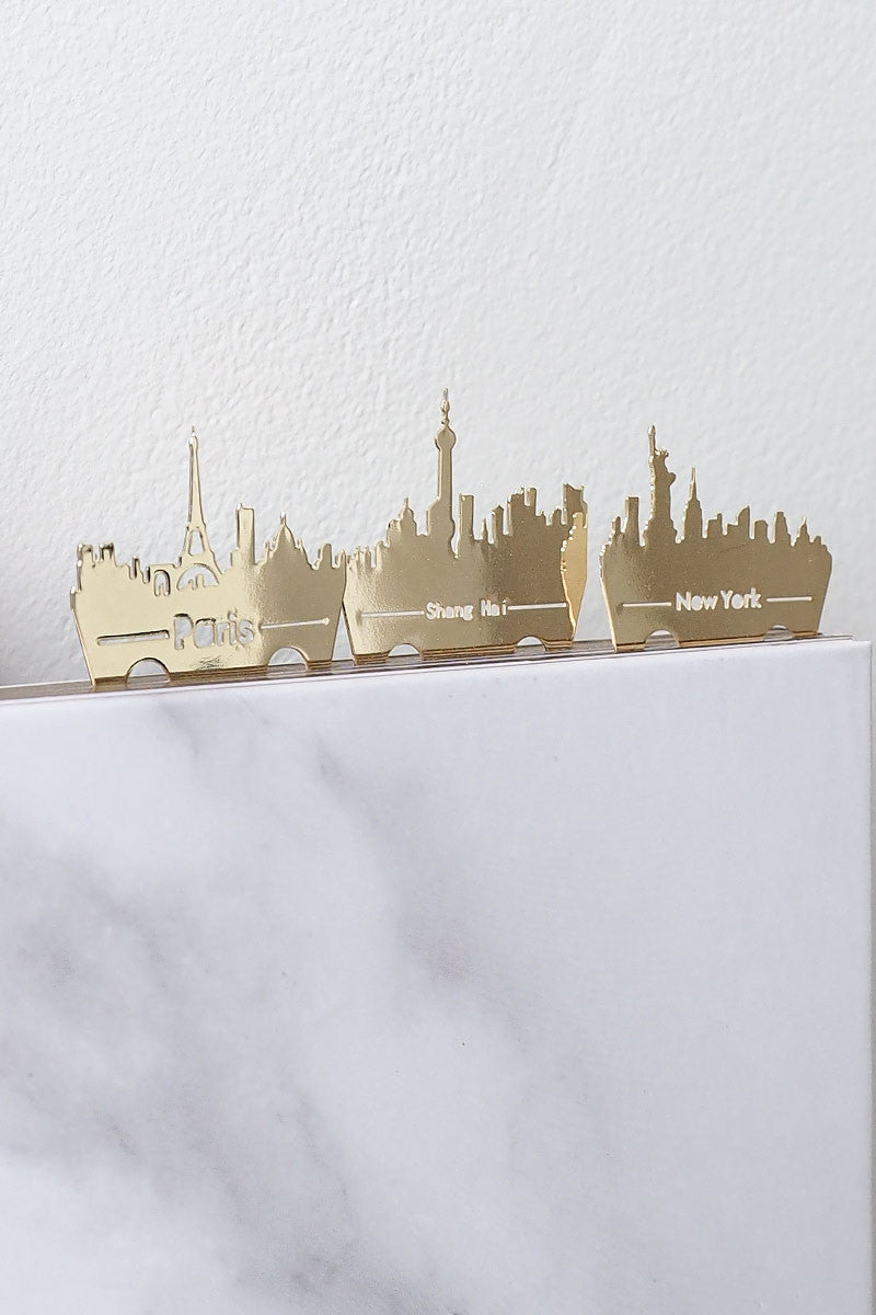 [ Your Life Gold ] Cosmopolitan Cities Bookmarks , Apartment - Wanderer Wanderer, Wanderer Wanderer  - 1