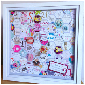 21st Birthday Card Frame