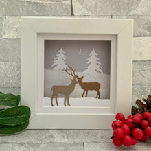 Load image into Gallery viewer, Deer Snow Mini Frame