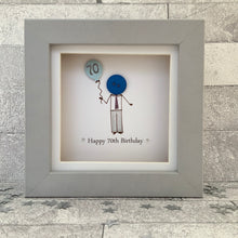Load image into Gallery viewer, Happy 70th Birthday Mini Frame