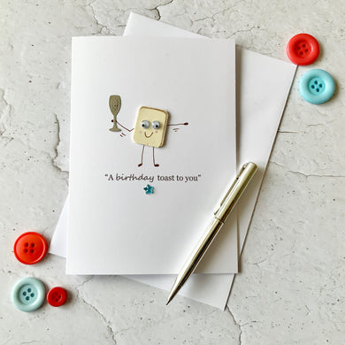 A Birthday Toast To You Card