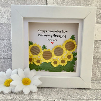 Always Remember How Blooming Amazing You Are Mini Frame
