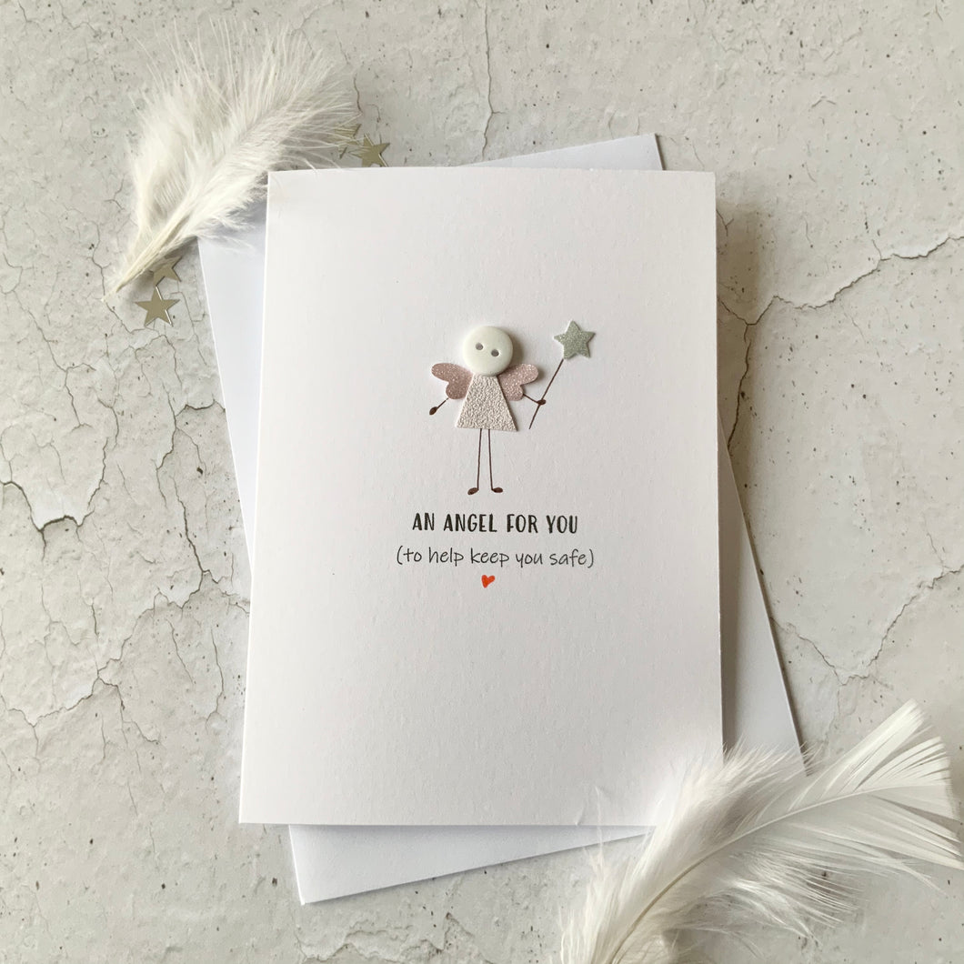 An Angel For You Card- Personalised