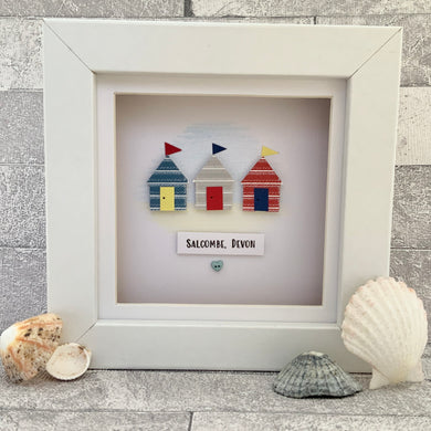 Beach Huts Mini Frame
