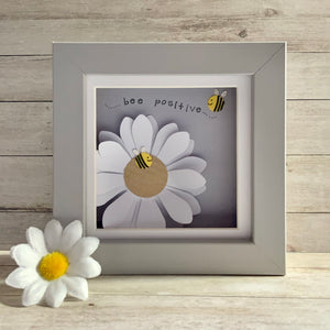 Bee Positive  Frame