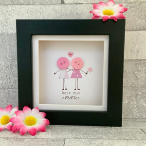 Best Mum Ever Mini Frame