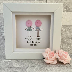 Friend Personalised  Mini Frame