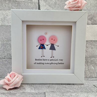 Besties Have A Special Way Mini Frame