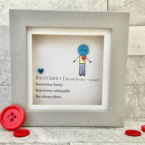 Brother Definition Mini Frame